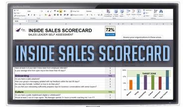 Inside Sales Acceleration Scorecard